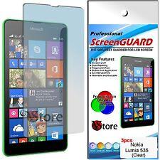 3 Pellicules Pour NOKIA Lumia 535 Protéger Sauve écran à cristaux liquides Film