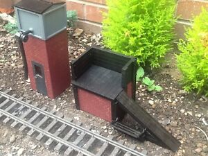 WATER TOWER FOR GARDEN RAILWAY.16MM SCALE COMPLETE. EASY BUILD KIT