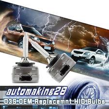 2x D3S 6000k HID Xenon Headlight Lamp Replacement Factory OEM Light Bulbs NEW!