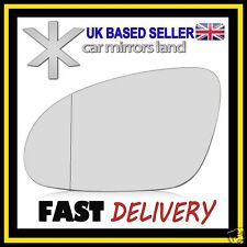 Left Passenger Wing Car Mirror Glass Replacement Wide Angle VW Golf 5 2003-2008*