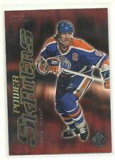 Wayne Gretzky    2000-01 SP Authentic Power Skaters    Edmonton Oilers