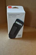 New Verizon iPhone 5C Shell / Holster Combo with Kickstand Black Cell Case