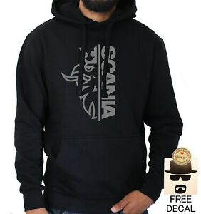 Scania Bird Logo Hoodie Car Enthusiast Racing Racer Gift Pullover Jumper UNISEX