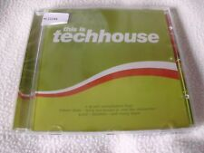 This Is Techhouse 1 CD - OVP