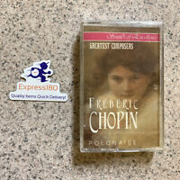 (JV) Rare! Frederic Chopin Cassette Factory Sealed Free US Shipping