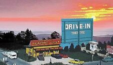 BLAIR LINE HO SCALE DRIVE-IN THEATRE KIT   BN   168