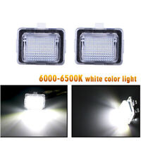 2X Canbus LED Number License Plate Light For Mercedes Benz W204 W212 W221 4-door