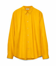 Yellow Shirt * MARNI at H&M * SIZE XL BRAND NEW UNWORN UNWASHED COTTON CASUAL