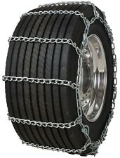 Quality Chain 3271QC Super Single 8mm Link Cam Tire Chains Snow Traction Truck