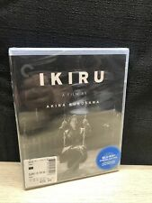 Ikiru (Blu-ray Disc, 2015, Criterion) Kurosawa NEW! Free Shipping!