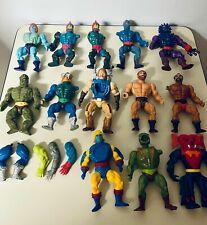 Vintage motu he-man parts lot Masters Of the Universe Collection