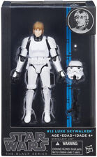 "Star Wars Black Series 6"" Blue Wave #12 Luke Skywalker (Stormtroop Disguise) NIB"