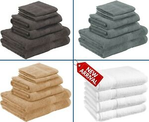 LUXURY 100% EGYPTIAN COTTON TOWEL BALE SET 500 GSM HAND BATH TOWEL JUMBO SHEET
