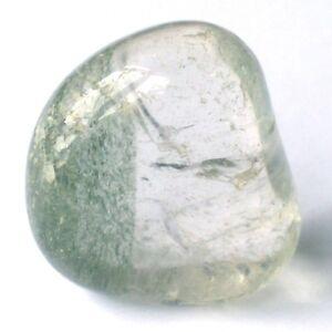 Handschmeichler LODOLITH Trommelstein ca. 25mm Brasilien SCHAMANENSTEIN 60 grün