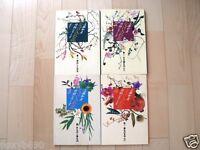 Japan Ikebana Ohara method  Kudo Kazuhiko Works Four books set