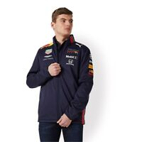 NEW 2019 RED BULL Racing F1 MENS Team Soft Shell Jacket Coat Verstappen OFFICIAL