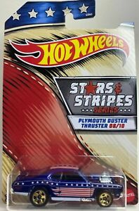 Hot Wheels Stars & Stripes Plymouth Duster Thruster Die-Cast Scale 1:64