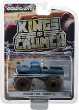 Greenlight 1/64 Kings Of Crunch S1 Bigfoot #1 1974 Ford F-250 DIRTY 49010-A