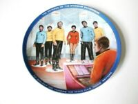 Star Trek Transporter Limited Edition Collector's Plate - 1986 - Never Displayed