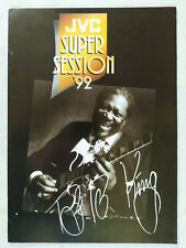 BB King & Robert Cray JVC Super Session Tour Programme 1992