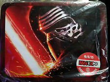 Star Wars: Force Awakens Kylo Ren Fan Expo 2015 Exclusive Lunch Box Rare
