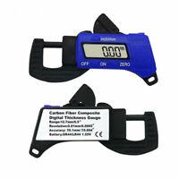 0-12.7mm LCD Portatile Lettura Spessimetro Digitale Misuratore Di Spessore