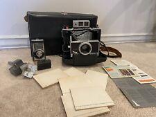 Polaroid Land Camera Model 180 w/Tominon 114mm f4.5 Lens