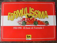 "ALBUM FIGURINE ""FORMULISSIMA"" COMPLETO - AGIP 1992"
