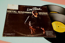 LOU REED 2LP METAL MACHINE MUSIC ORIG USA 1975 EX MASTER REFERENCE RCA GATEFOLD