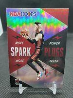 2020-21 NBA Hoops Tyler Herro Spark Plugs Holo Miami Heat #9