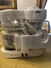 """SALTON EX-20 """"Three for All"""" Coffee Maker, Espresso, and Cappuccino Machine."""