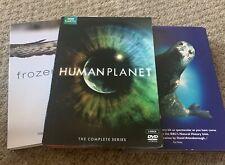 Blue Planet. Frozen Planet. Human Planet Box Sets. David Attenborough. Dvds