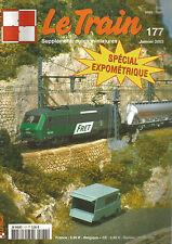 LE TRAIN N°177 MASSIF CENTRAL / Z TER / LOCO-SPOTIER / TRIX-MARKLIN BB 12068