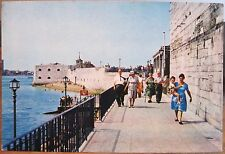 UK Postcard 18 GUN BATTERY Old Portsmouth Hampshire England J Arthur Dixon 1970s