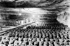 New 5x7 World War II Photo: German Treasure Hidden in Salt Mines, 1945