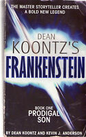 Complete Set Series - Lot of 5 Frankenstein Books by Dean Koontz Prodigal Son