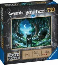 Ravensburger - Puzzle Exit 7: Wolfsgeschichten, 759 Teile NEU & OVP