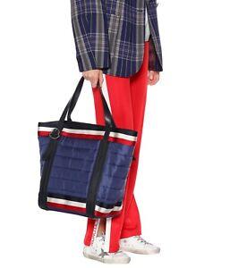 Moncler 100% Genuine Tote Bag Navy RRP £600 Padded Handbag