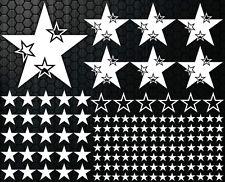108-teiliges Sterne XXL Set Star Auto Aufkleber Sticker Tuning Styli Wandtattoo