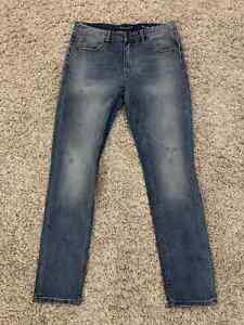 men`s jeans SAINT LAURENT PARIS  Skinny Jeans YSL Blue Denim size 33
