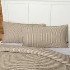 Vhc Farmhouse Pillow Sham Sawyer Mill Bedding King Standard Cotton 3 Colors
