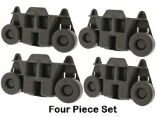 New 4 Pack W10195416 Whirlpool Dishwasher Wheel Assembly AP5983730, PS117221