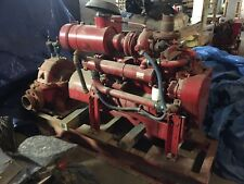 Cummins 5.9L 6BT Diesel Engine pump and stand Used