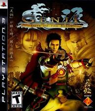 Genji Days Of The Blade PS3 Great Condition Complete Fast Shipping