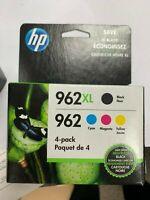 HP 962XL High Yield Black And HP 962 Cyan/Magenta/Yellow Ink Cartridges exp 4/21