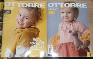 Ottobre Design magazine Spring 1/2021 Kids Sewing & Patterns Sizes 62cm - 170cm