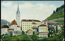 cartolina BELLUNO pieve in buchenstein