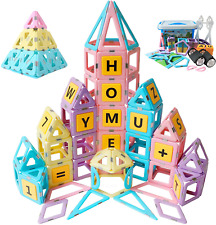Magnetic Toys Kids Building Blocks Set Toddler Activities Educational Preschool