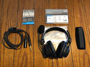 Sennheiser HMD 27 Lightweight Professional Broadcast Headset