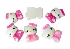 Resin Hello Kitty Cat Japan Kimono Flatback Cabochon Scrapbooking Kid Craft Cute